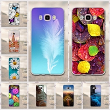 Case for Funda Samsung Galaxy J5 2016 Phone Cases 3D Soft TPU Silicon Cover For Samsung Galaxy J5 (2016) J510F Phone Back Cover(China)