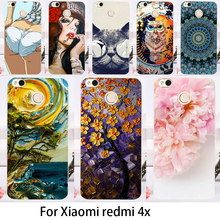 Cases For Xiaomi Redmi 4X Cover 5.0 inch Cell Phone Bags Lovely Minions Durable Hard Plastic Soft TPU Skin Housing