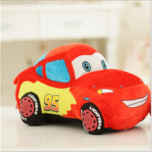 "1 Piece 10"" 25cm Movie Cars Pixar Original Plush Toys Cars Model Stuffed Plush Toy Reborn Baby Favorite Car dolls Toy"