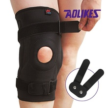 Riding Cycling Sports Knee Protector with Double Steel Plate Knee Guard Protection Pads Support