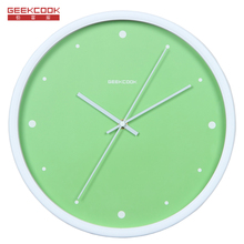 New Fashion Candy Colors simple Mute Wall Clock Modern design Creative wall clock home decor 12 inch living room Art Wall Clock