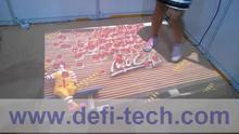 DEFI Interactive floor software and hardware with 130 effects that you just need to preapre computer and projector