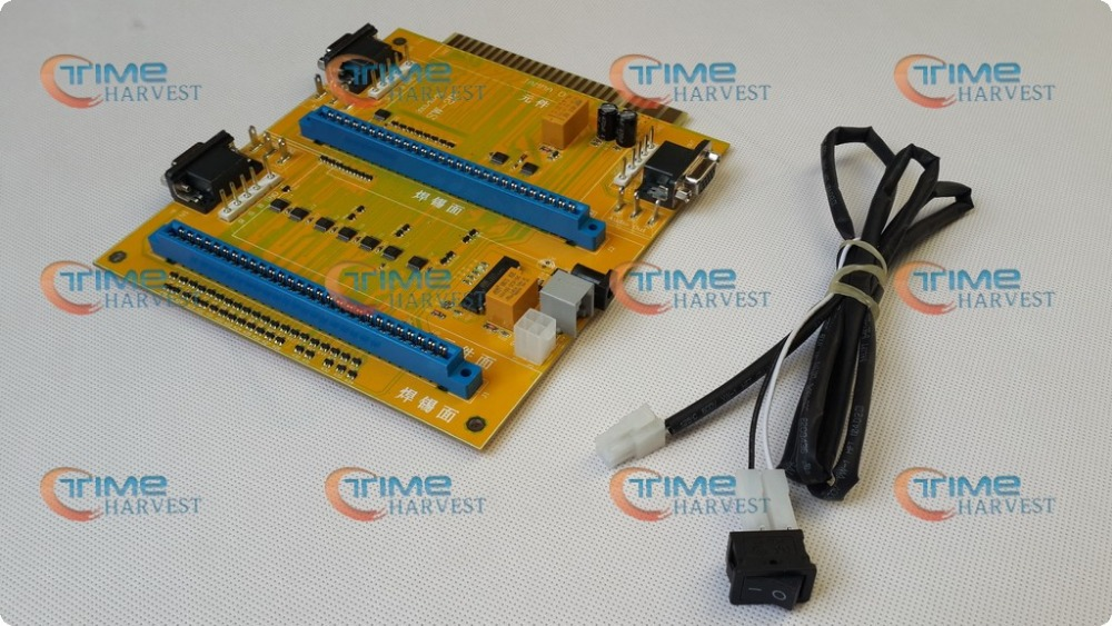 2 in 1 Jamma extension converter PCB/ 2-in-1 MultiJAMMA Switcher PCB JAMMA Adapter for arcade machine/coin operator game cabinet<br>