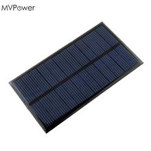 4-pieces Mini 6V 1W Solar Power Panel Bank Solar System Module DIY Home Solar Panel For Light Battery Cell Phone Toys Chargers(China)