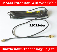 High Quality 5PCS/LOT  Antenna RP-SMA Extension Wifi Wan Cable For Wi-Fi Router SMA Coaxial Adapter Connector