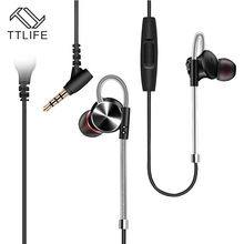 TTLIFE Wired Earphones W3 Real Restore Sound Sport Headset Music Stereo In-ear Original Headset With Hc Mic for Phone Xiaomi(China)