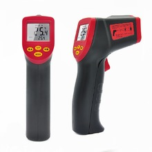 A530 Laser LCD Digital IR Infrared Thermometer Temperature Meter Gun Point -32~550 Degree Non-Contact No Contact Thermometer(China)