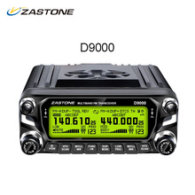 ZASTONE ZT-D9000 Walkie Talkie 50km Car Mobile Radio Station 50W Dual Band UHF VHF 136-174MHz 400-520MHz Radio Transceiver D9000(China)