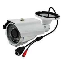 Outdoor waterproof CCTV Surveillance IP Camera with HD 2.8-12MM Varifocal Lens, With 35-40M IR distance. Zoom & Focus adjustable