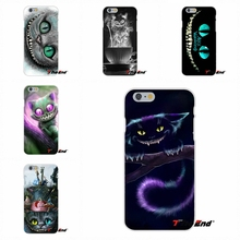 Stunning Green eyes Cheshire Cat Soft Silicone Case For Samsung Galaxy S3 S4 S5 MINI S6 S7 edge S8 Plus Note 2 3 4 5(China)