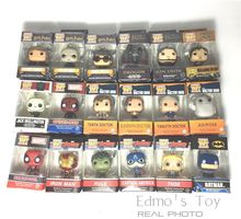 Funko Pocket POP Keychain Harry Potter Game of Thrones Deadpool Walking Dead Key Chain Ring 2016 NEW All 19 Styles with Gift Box