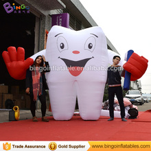 Free Shipping 2.5M high nylon material inflatable tooth teeth model hot sale custom made OEM sample for inflatable toys
