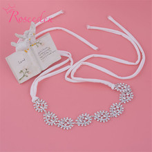 Cheapest!!New Bridal Hair Hoop Korean Style Women Hari Band Accessories Luxurious Silver Plated Tiaras Crown for Women RE195(China)