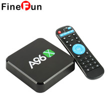 FineFun A96S Android TV Box Amlogic S905X Quad Core Android 6.0 1GB+8GB HDMI 2.0 WIFI 4K 1080P HDD Players #A1660(China)