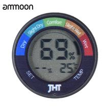 Mini Instrument Digital Humidity & Temperature Sensor Tester Thermometer Hygrometer with LCD Display for Piano Guitar Violin