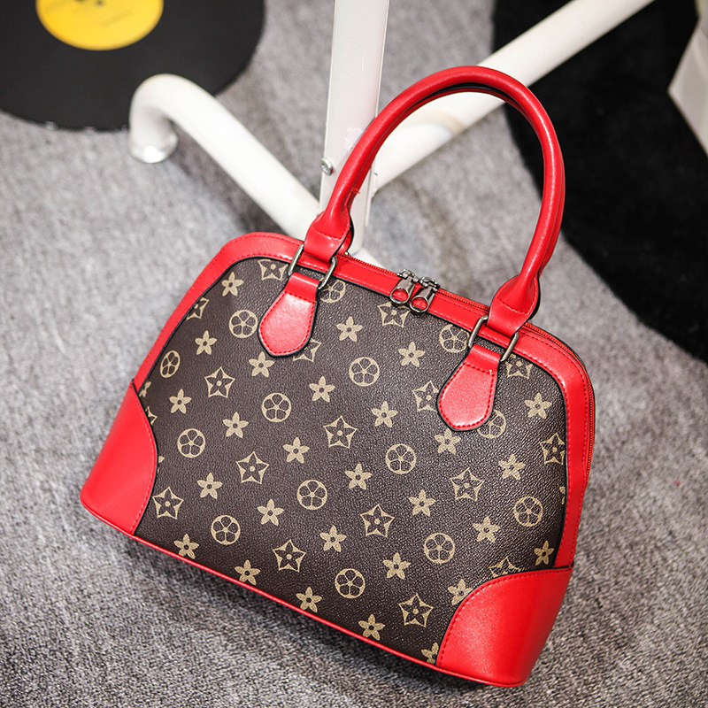 New trend of women handbags fashion sexy simple printing bag PU bag # h382 euramerican style<br><br>Aliexpress