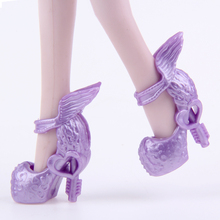 UCanaan 1 Pair Shoes fit Monster Doll's Shoes Chose You Like Style Doll shoes for Monster Hight Doll Accessories DIY BJD(China)