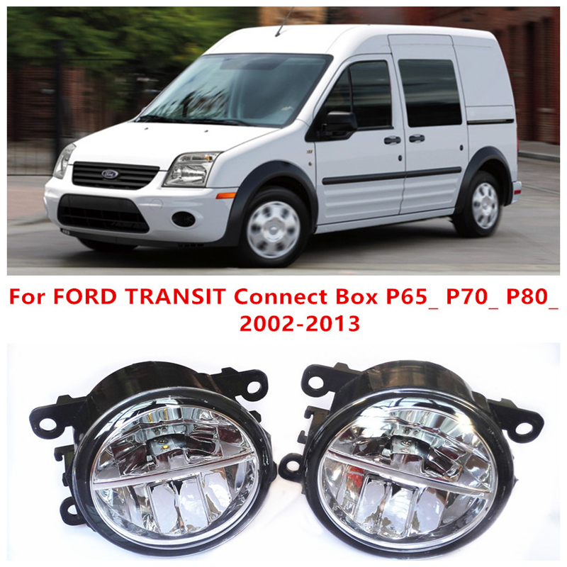 For FORD TRANSIT Connect Box P65_ P70_ P80_  2002-2013  10W Fog Light LED DRL Daytime Running Lights Car Styling lamps<br><br>Aliexpress