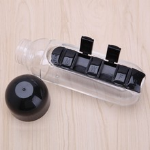 Novelty 1Pc Water Bottle Combine Daily Weekly Pill Box Seven Organizer Portable New