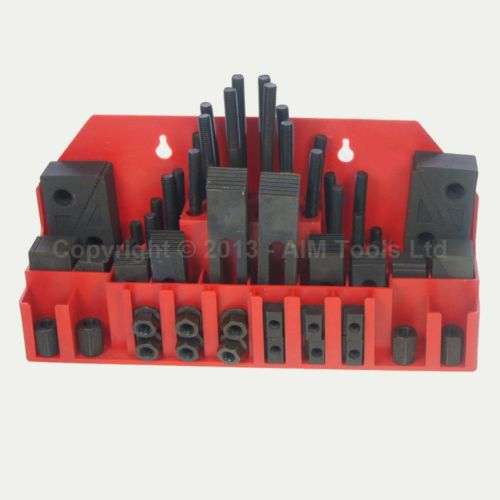 58Pc M12 Engineering Precision Clamping Kit For Lathe Milling Machine<br>
