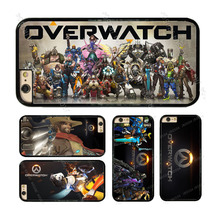 JR0504 Overwatch OW Game Hard Phone Case Cover For iphone X 4 4s 5 5s 5c SE 6 6s 6 plus 6s plus 7 7 8 8 plus #T0021(China)