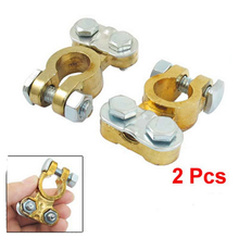2 pcs Battery Terminal for Car Clamp Clips universal all cars Connector Auto Replacement