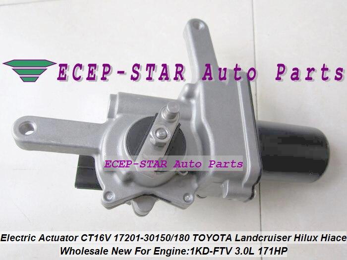 Turbo Electric Solenoid Actuator CT16V 17201-30150 17201 30180 For TOYOTA Hi-lux Landcruiser KZJ90 KZJ95 VIGO 1KD-FTV 3.0L 2.5L