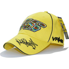 2017 New Design F1 Racing Cap Car Motocycle Racing MOTO GP VR 46 Rossi Embroidery Sport Hiphop Cotton Trucker Baseball Cap Hat