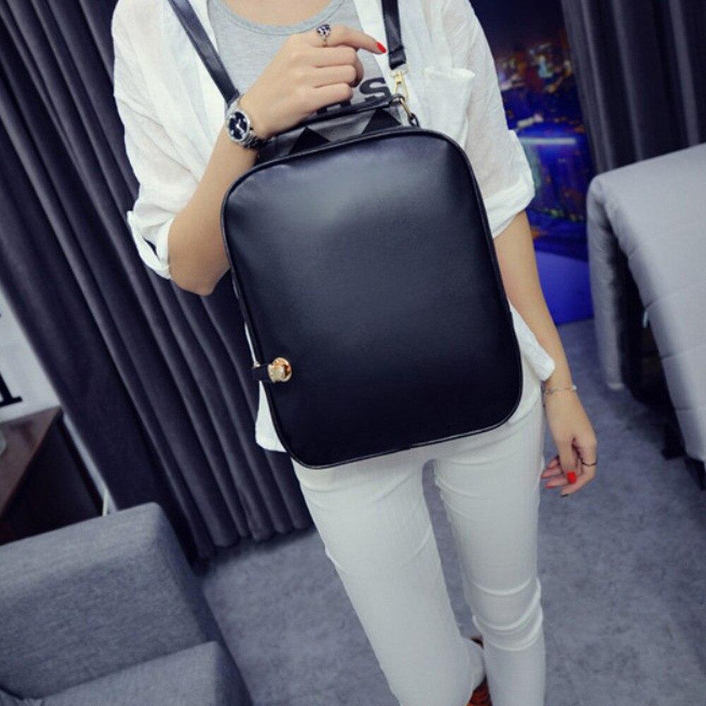 New Fashion Student Girls Travel Bag Top Handle Bag Women Latch Shoulder Bag Schoolbag Simple Style Designer Backpack Bolsas<br><br>Aliexpress