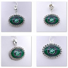 Pendant Charms Rhinestone NHL Dallas Stars Charms for Bracelet Necklace for Women Men Ice Hockey Fans Paty Fashion 2017