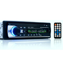 Bluetooth One 1 DIN 12V Car Radio Car Audio Stereo MP3 Auto Radio Player + FM USB SD MMC AUX Input Receiver Hands-free Call