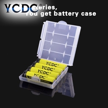 YCDC 0riginal 4pcs/Lot 55x14.5mm 1.2V NiMh AA 2000 mAh Battery Rechargeable AA Batteries pilas recargables Ni-Mh New sale(China)