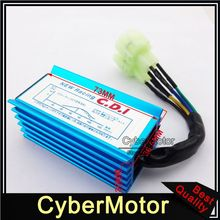 Blue Racing 6 Pin AC Ignition CDI Box For GY6 50cc 90cc 110cc 125cc 150cc Engine Parts Chinese Moped Scooter ATV Quad Buggy