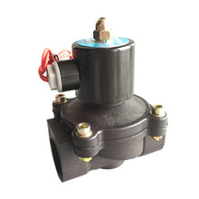 "Free Shipping 1"" 1 inch Solenoid valve water valve N/C 2 way Air Oil gas 2W250-25 12V 24V 220V electromagnetic valve(China)"
