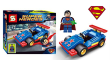 Superman Marvel DC Avengers Building Bricks Super Hero  Vehicle Set Block Figure Toys Compatible With Lego