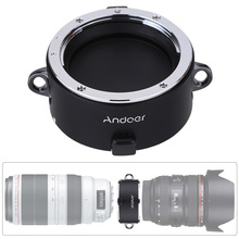 Andoer Stand-by Helper Quick Changing Tool Lens Double Dual Lens Holder for Canon Sigma Tamron Zeiss Tokina EF/EF-S Mount Lens