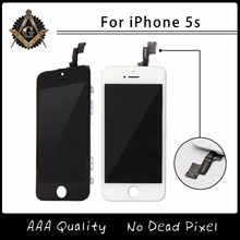 100% Brand New AAA Quality LCD For iPhone 5s Screen No Dead Pixel Free Shipping Via DHL