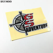 Car Whole Body Window Tail Sticker Motorcycle Tail Box Decal Vinyl Tape for ADV R1200GS GS ADVENTURE KING OF MOTORRAD(China)