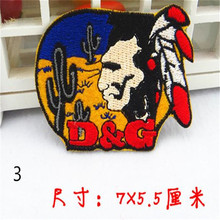 Kids clothes Patch Iron on Patches For boys clothes & girls clothes Cute Fashion Color Badge D & G Logo Free Shipping