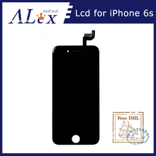 10PCS/LOT Black OEM IC for AAA iPhone 6S OEM IC LCD Display and Touch Screen Digitizer Full Assembly Complete 100% Test(China)