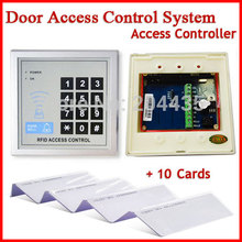 Security RFID Proximity Entry Door Lock Access Control System Quality 5YOA + 10 RFID Card