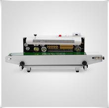 220V High quality FR -900 Continuous Automatic Sealing machine for plastic bag/Plastic Bag Sealer machine(China)