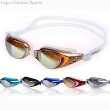 Professional Silicone Underwater Waterproof Anti fog UV Protection Swim Pool Swimming Goggles Water Glasses Eyewear Accessories