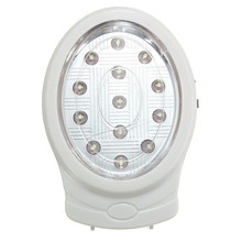 Promotion Natural White 13 LED Rechargeable Home Wall Emergency Automatic Power Failure Outage Night Light Lamp 110~240V EU plug(China)