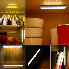 LED PIR Infrared Human Body Sensor Lamp Night led 2835 for wall furniture Kitchen Bedroom Indoor Drawer Cabinet Corridor Drawer