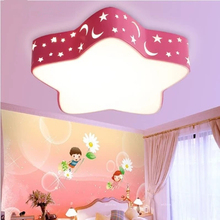 Children bedroom lamp wrought iron special-shaped ceiling lamp cover star Ocean Star pattern lamp DIY lamp