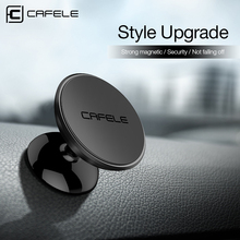 Cafele Magnet Car Mount Phone Holder for Cell Phones and Mini Tablets with Fast Swift-snap Magnetic Car Phone Holder Stand(China)