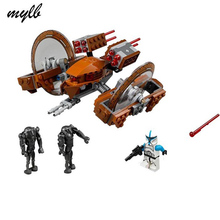 mylb Star Wars Attack of the Clones Hailfire Droid Exclusive Compatible With Building blocks Bricks Toys drop shipping