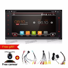 Android car dvd player for toyota avensis in dash 2 din Quad Core car dvd gps navigation Wifi 3G TV 200*100mm
