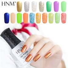 HNM 8ML 194 Rough Color UV Gel Nail Polish Gel Varnish Lucky GelLak Hybrid Gelpolish Semi Permanent Gel Polish Lacquer Gel ink